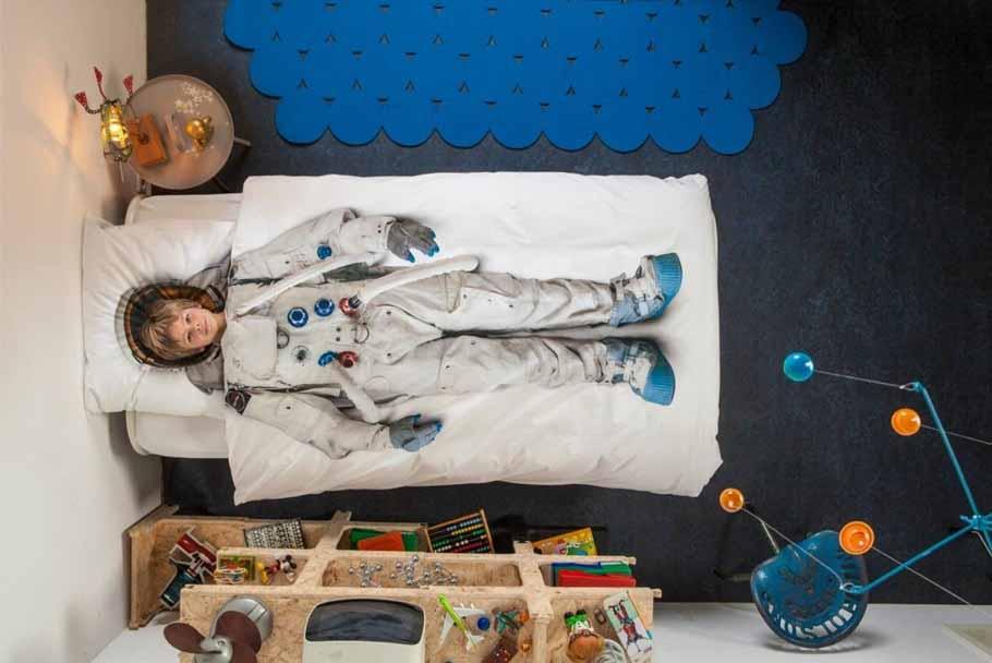 Astronautenkamer thema kinderkamer tips  styling  BOYSLABEL