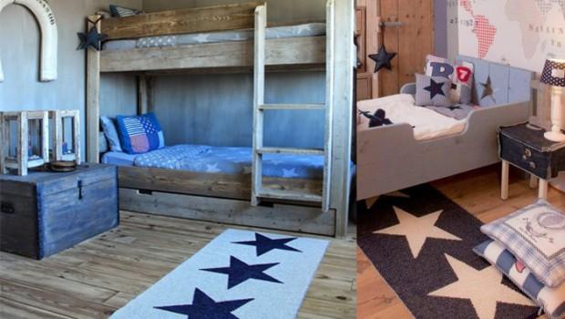 Vloerkleed kinderkamer  sfeermakers op de slaapkamer