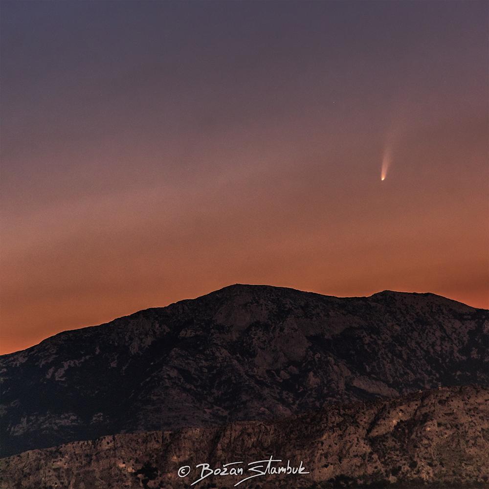 komet-neowise-planina-mosor