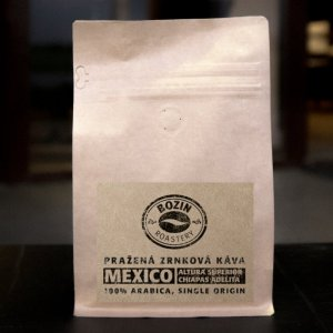 Prazena zrnkova kava - Mexico Altura Superior Chiapas Adelita single origin arabica