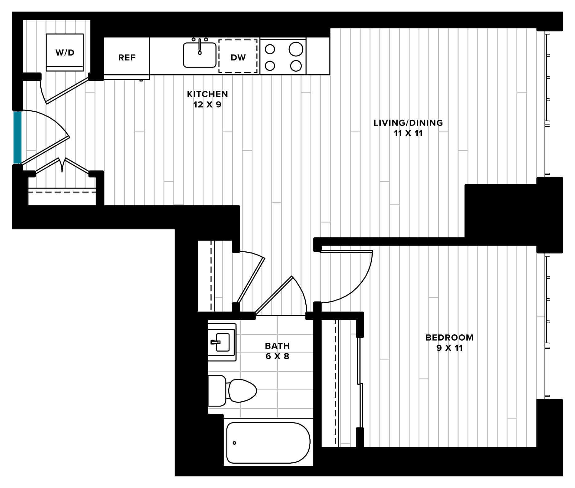 Incanto, SW Waterfront Washington, DC Apartment for Rent
