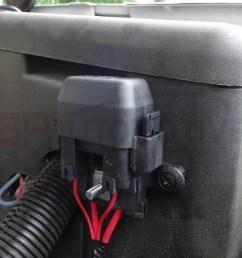 fan harness fuse holder installation [ 1245 x 1038 Pixel ]
