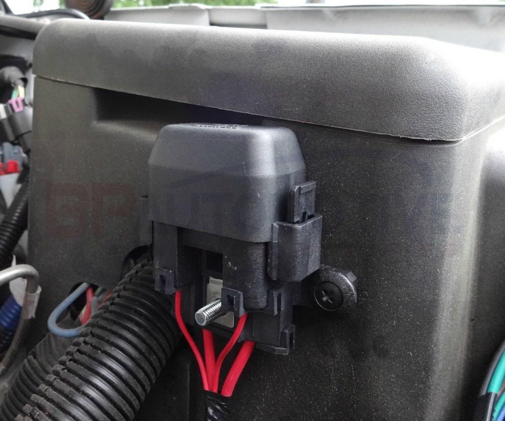 medium resolution of fan harness fuse holder installation