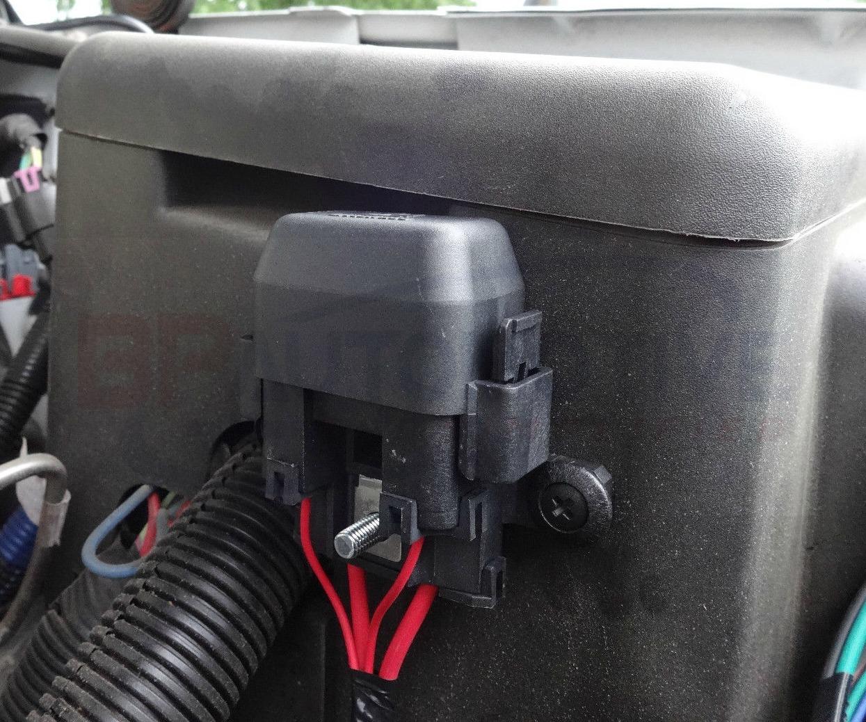 hight resolution of fan harness fuse holder installation