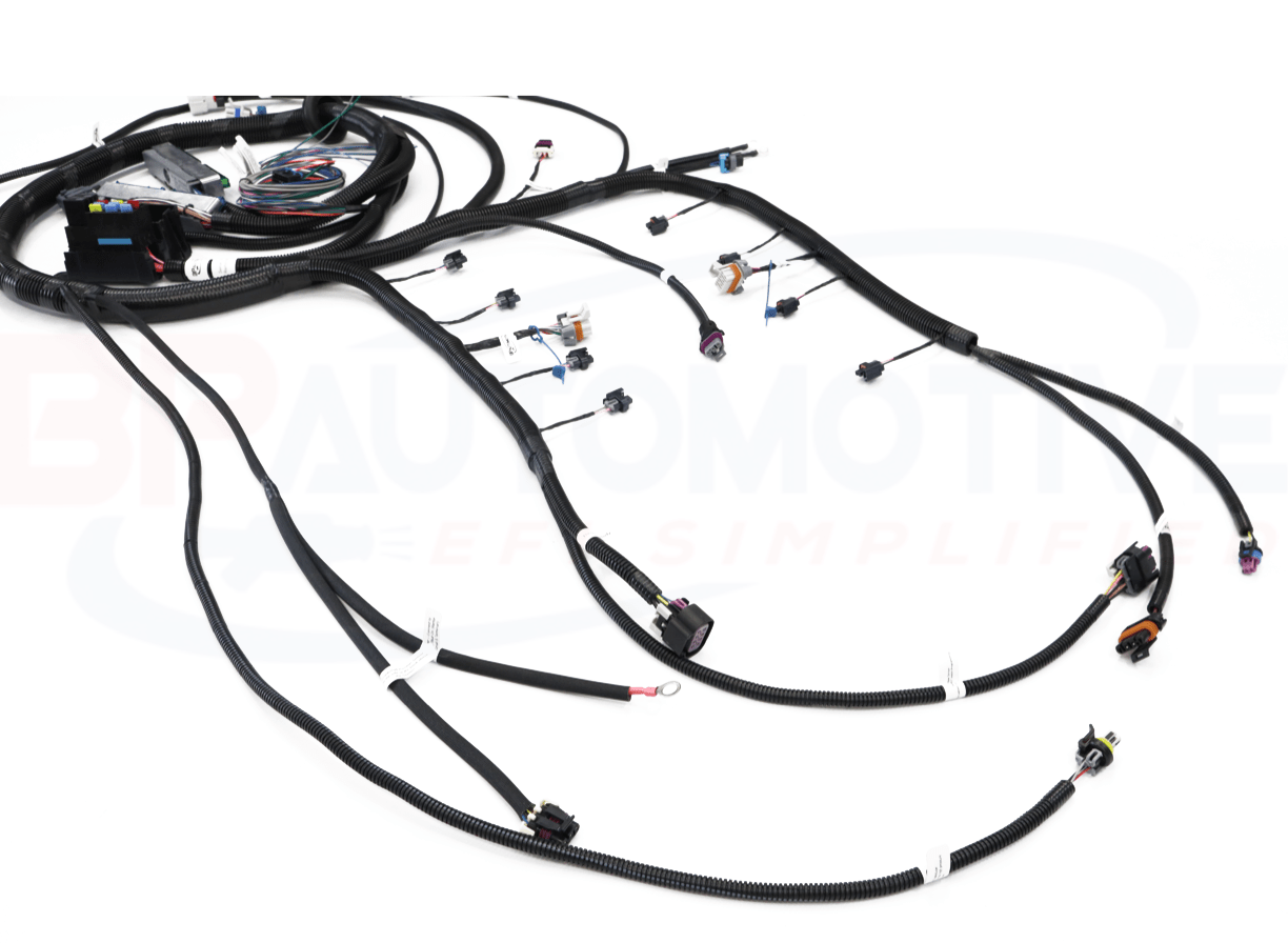 Drive By Wire Vortec 4l60e Stand Alone Ls Swap Harness