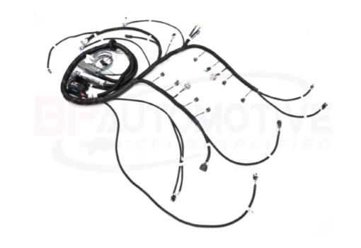 Drive by Wire Vortec 4L60e Stand Alone LS Swap Harness