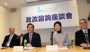 經民聯副主席林健鋒期望各界以香港整體利益出發,推動政改向前發展。