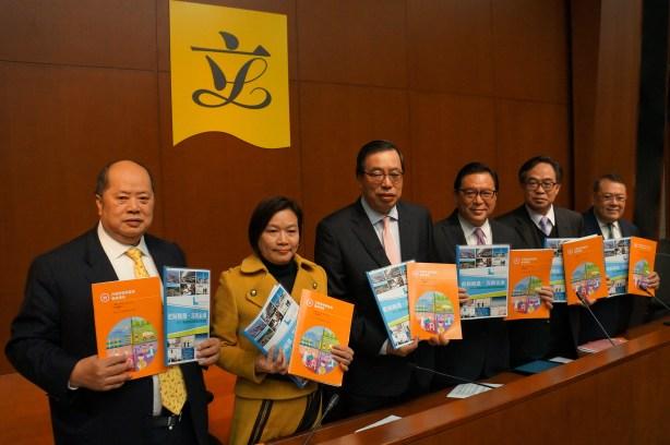 經民聯歡迎政府採納聯盟多項有關改善經濟及民生的建議。