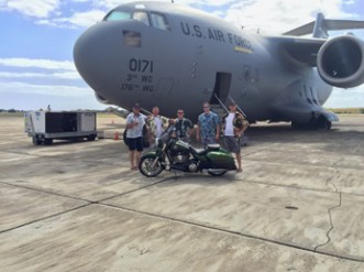 Road King with C17 Crew