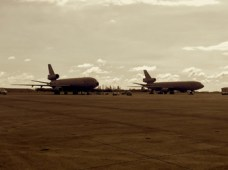 Two DC-10's
