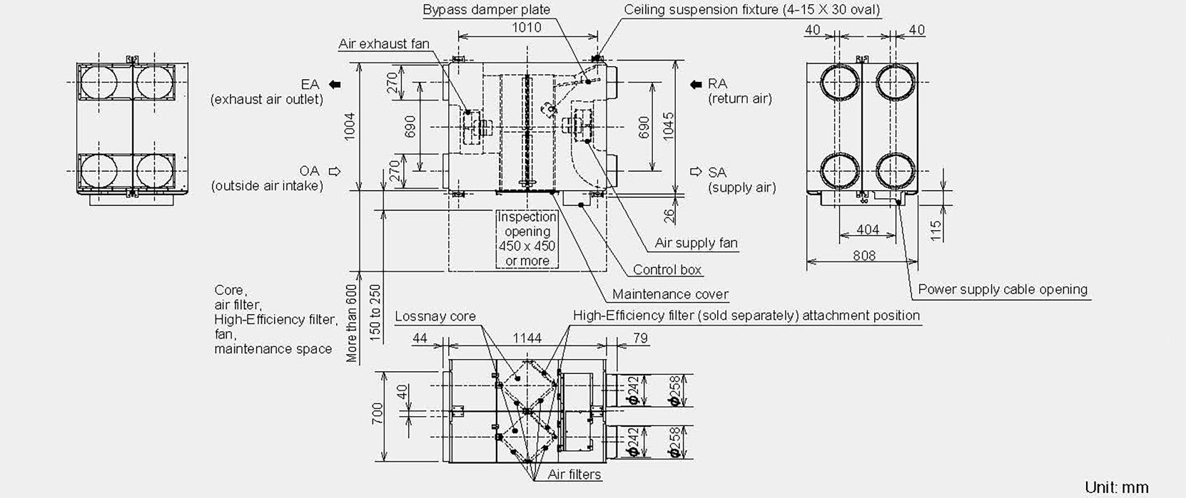 hight resolution of mitsubishi lgh150 configuration