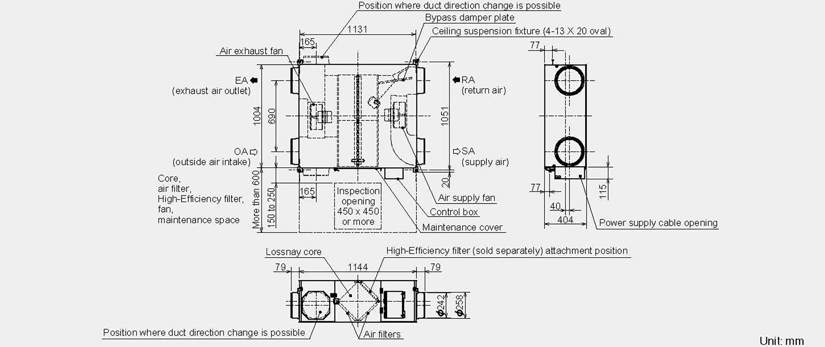 hight resolution of mitsubishi lgh80 configuration