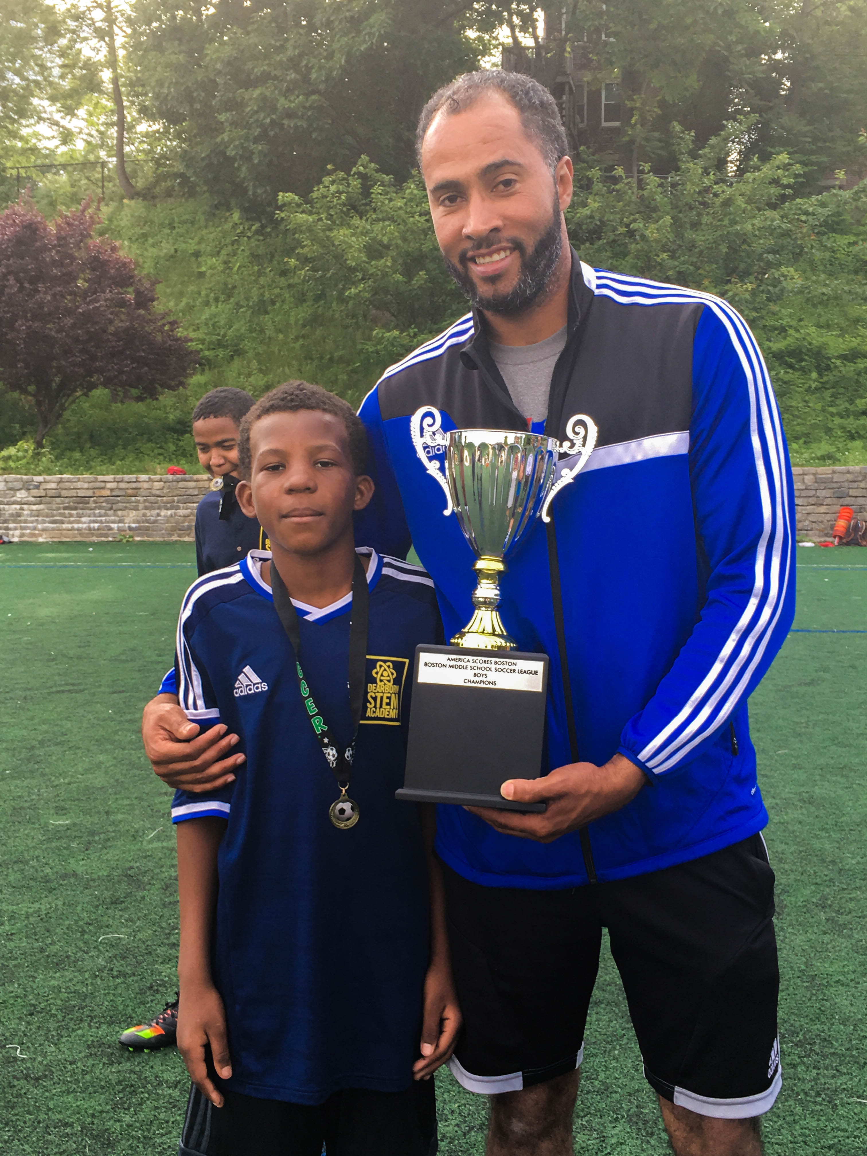 Middle School Soccer Championship Win