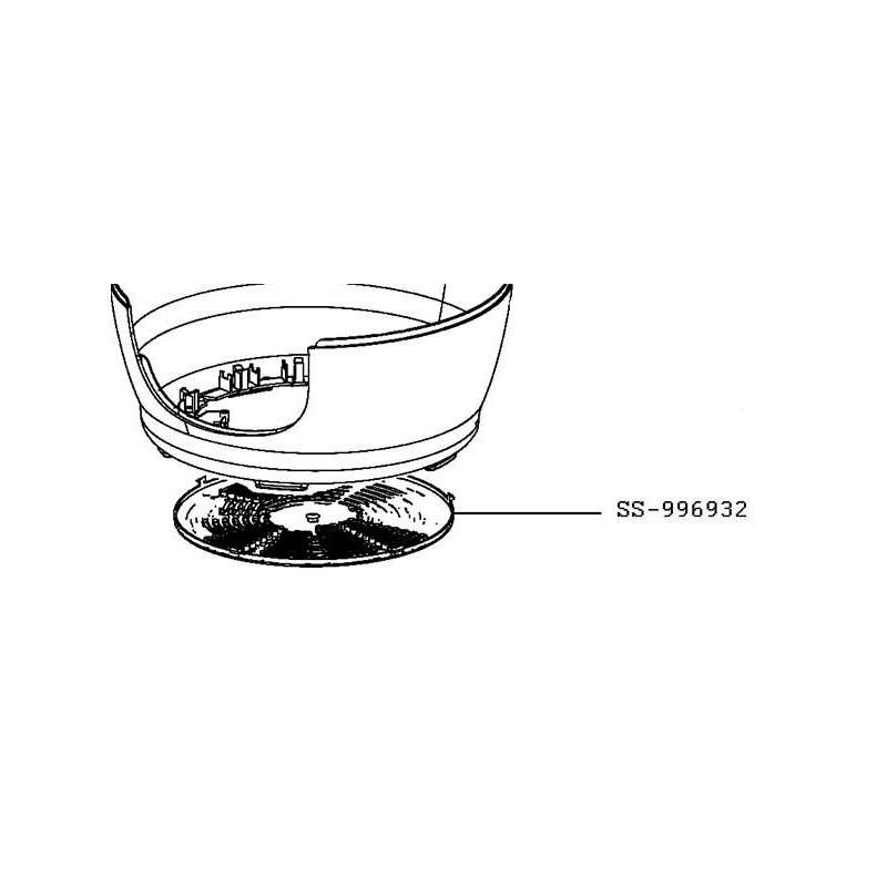 fond marron pour cookeo moulinex ss 996932