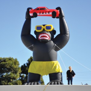 Giant Inflatable Gorilla