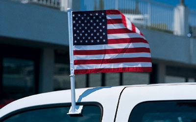 US Clip On Flag