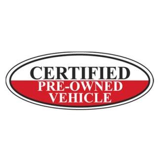 Certified Oval Windshield Stickers