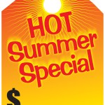 Hot Summer Special Mirror Tags