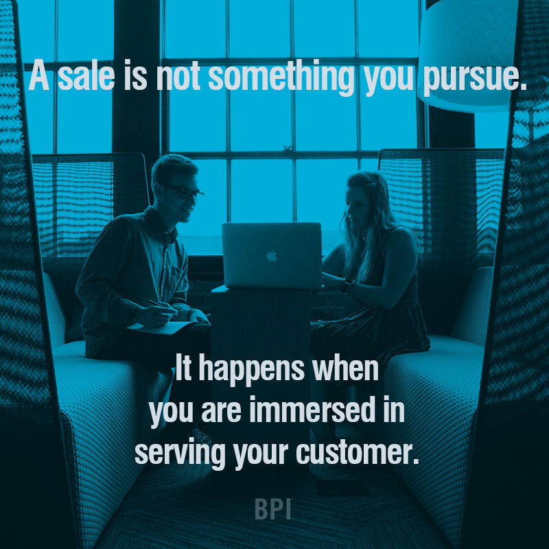 Immersed - Sales Motivation for #motivationmonday