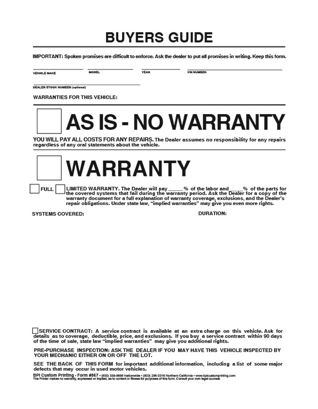 buyer s guide template rh signaturepedagogies org uk Used Car Buyers Guide Form 2018 Used Car Buyer Guides Template
