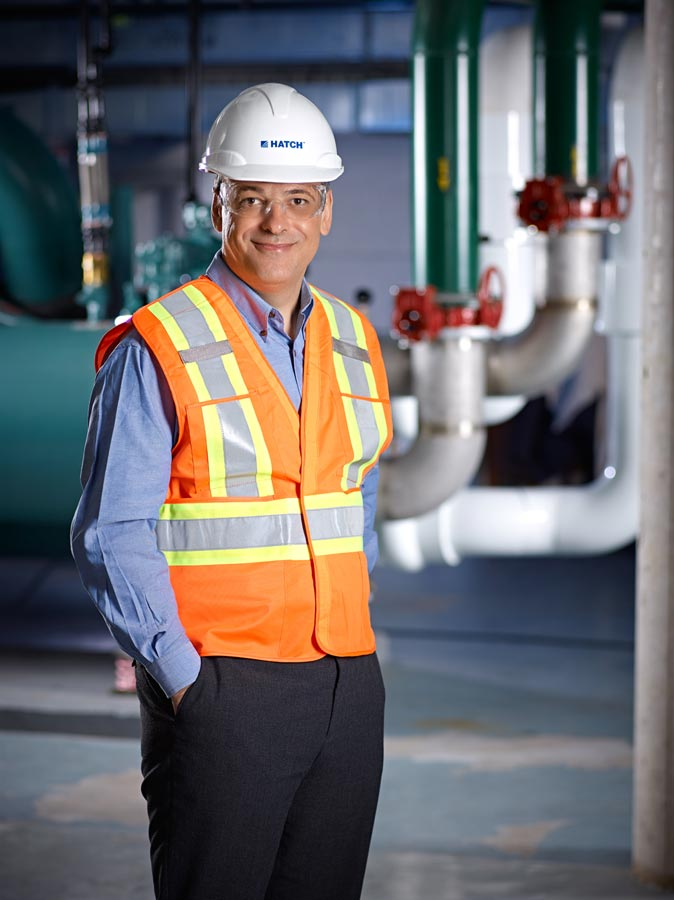Environmental Portrait Photography  On Location at Workplace