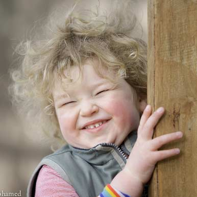 Happy Child at Batman Park Kindergarten