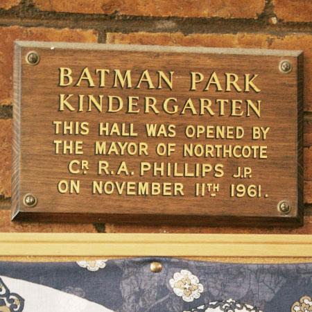 batman park kindergarten opening
