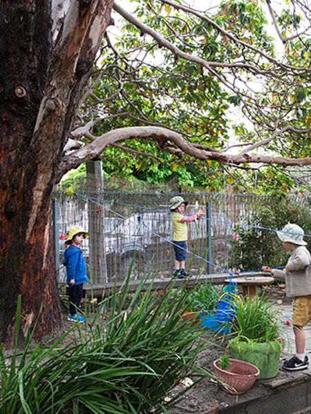 batman park kindergarten rope