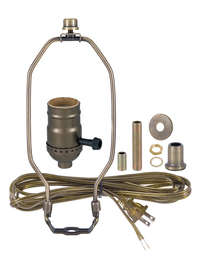 Lamp Sockets, Cords, Switches & Components   B&P Lamp Supply