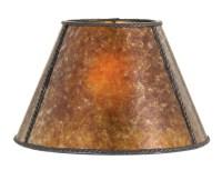 Amber Empire Style Mica Lamp Shade 05717M | B&P Lamp Supply