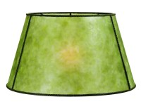 Green Mica Empire Style Floor Lamp Shade 05719G | B&P Lamp ...
