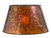Amber Mica Empire Style Floor Lamp Shade 05719M | B&P Lamp ...