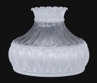 10 Satin Crystal with Clear Panel Shade 06526 | B&P Lamp ...