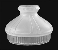10 Etched Glass Shade, Style #601 06570 | B&P Lamp Supply