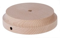 Modern Style Round Wooden Lamp Bases with Tapered Edge ...