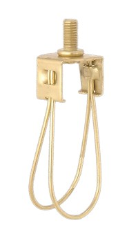 Brass finish washer to clip on adapter 22115 | B&P Lamp Supply