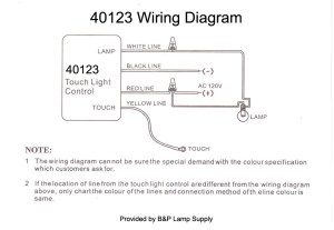 LoMedHiOff, Touch Lamp Control Switch 40123   B&P Lamp Supply
