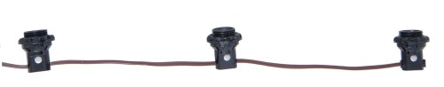 small resolution of 3 light phenolic e12 candelabra lamp socket harness set each w shoulder detachable phenolic ring 18 tail 6 centers 18 2 spt 1 brown 105c leads