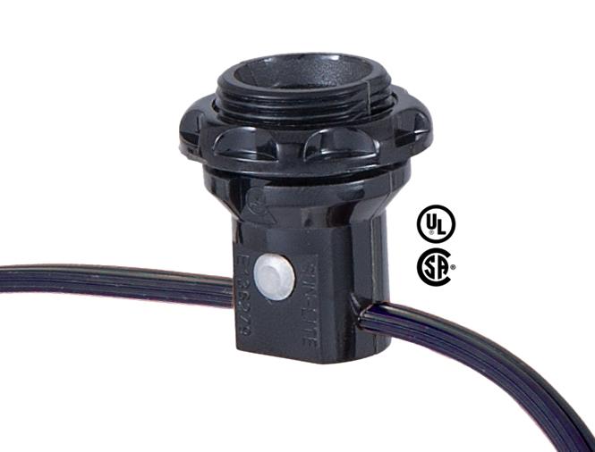 Lamp Base Socket Kit Electrical Wiring Set For Making Repairing And