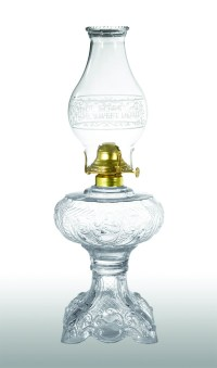 Princess Feather Pattern, Kerosene Lamp 67503D