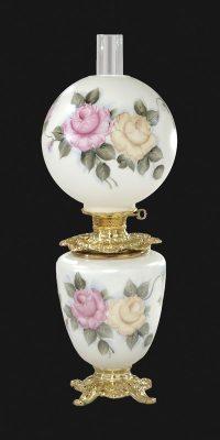 Hand Painted Duet Design Parlor Lamp 69193C | B&P Lamp Supply