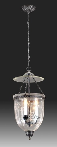 Grapes Pattern Hall Lantern 69515C | B&P Lamp Supply
