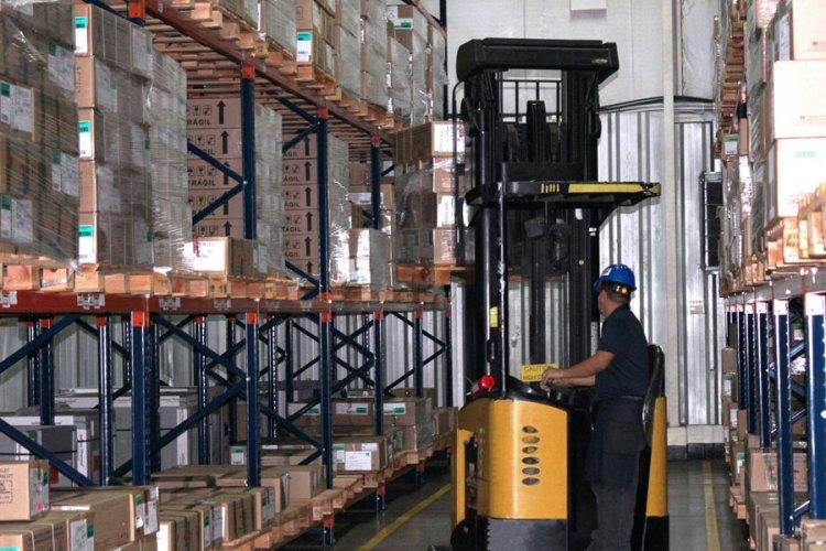 Recepción de producto BP Logistics Panama