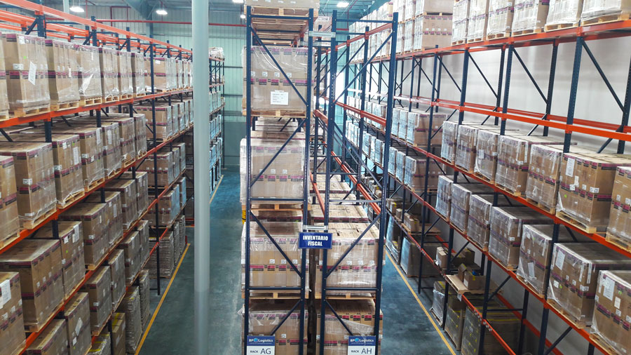 Vista general instalaciones BP Logistics Panama