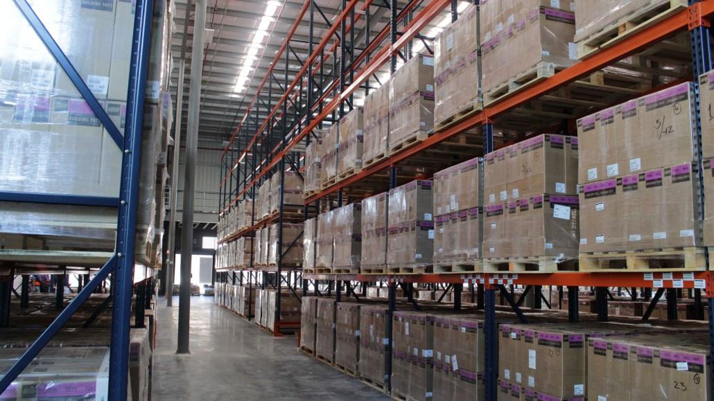 Almacenaje en BP Logistics