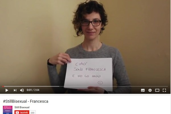 StillBisexual - Francesca