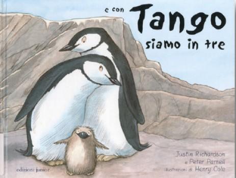 """""""E con Tango siamo in tre - Parnell/Richardson"""". Casa editrice Junior. Lingua Italiana"""