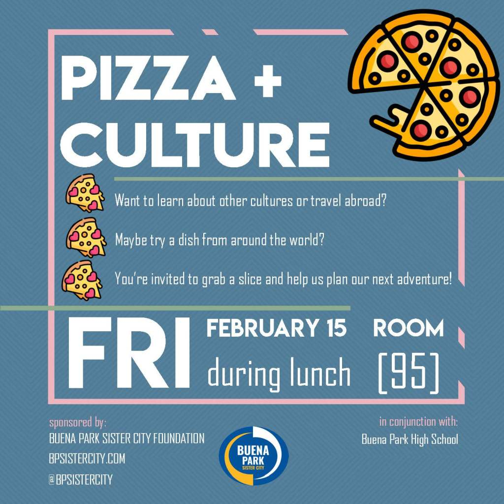 BPSC BPHS Pizza Social