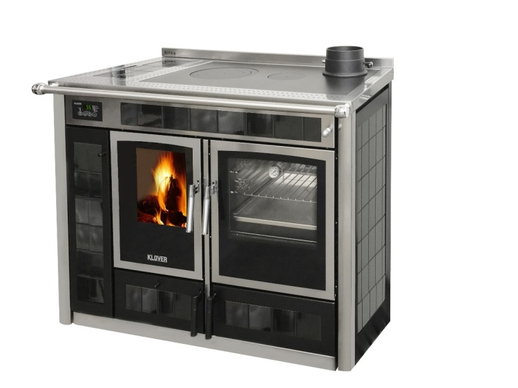 La Klover presenta la nuova termocucina a legna Altea 110
