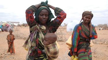 Somalische Flüchtlinge in Äthiopien | Bild: picture-alliance/dpa
